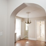 Archway from Living to Dining Rooms